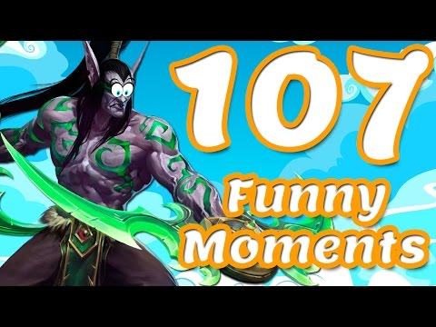 Heroes of the Storm: WP and Funny Moments #107