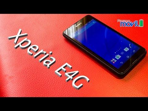 Xperia E4G - Análisis en Español HD