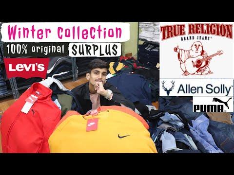 100% Branded Winter Clothes Wholesale | Surplus Clothes Warehouse | INDIAS Biggest Wholesaler .