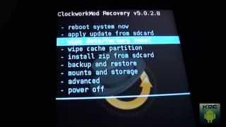 Tutorial de como Instalar ROM MANANGER e RECOVERY [ClockWorkMod] HD