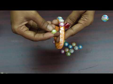 Bridal Bangle | Silk Thread Bangle Making | Silk Thread Crafts By Suchi Planet