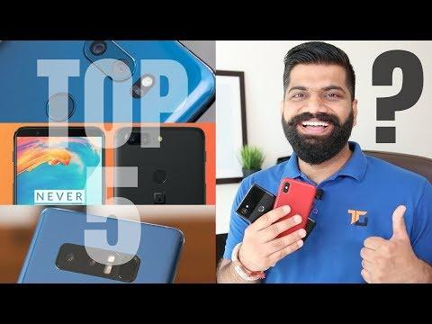 Top 5 Flagship Phones of 2017 - My best Picks!!! Best Smartphone in India?