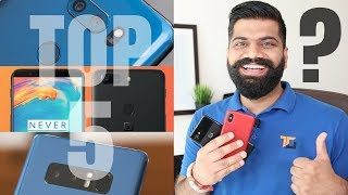 Top 5 Flagship Phones of 2017 - My best Picks!!! Best Smartphone in India?
