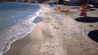 октябрь на Критском пляже... весь пляж - мой! ))(пляж рядом с Ираклио на Крите 7 октября чудесная погода + 27, вода + 24 наслаждаемся..., 2014-10-08T09:47:06.000Z)
