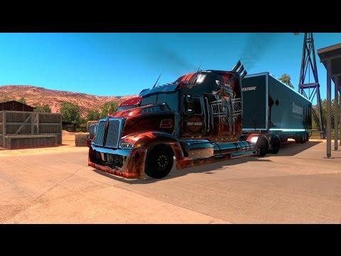 American Truck Simulator 2.0 #54   Wester Star 5700 Optimus Prime    JMGamer