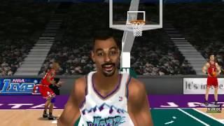 NBA LIVE 99 GAMEPLAY FULL GAME (chicago bulls va utah jazz)