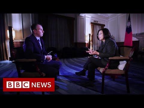 बीबीसी समाचार - चीन ताइवान सम्मान दिखाने की चेतावनी दी