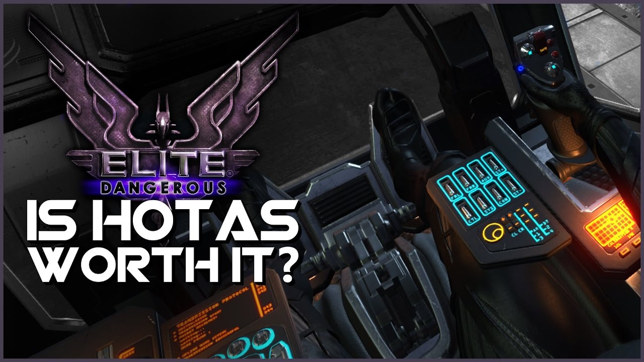 Elite Dangerous | Is HOTAS Worth it? ► Thrustmaster T Flight HOTAS X Review  [21:9 UltraWide] by Ricky Summer Gaming