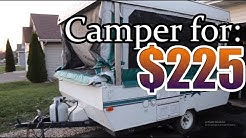 $225 Salvage CAMPER from Copart