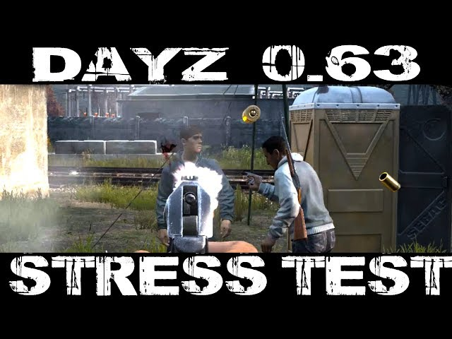 DayZ 0.63 Stress Test - New Features & Highlights - Stamina, Server Performance, and New Airfield!