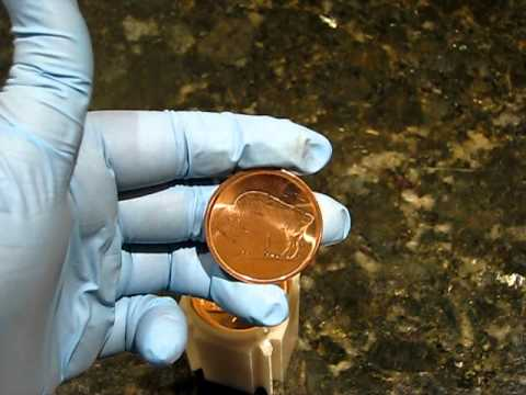 Copper Bullion Rounds Fine .999 2012 Buffalo Head