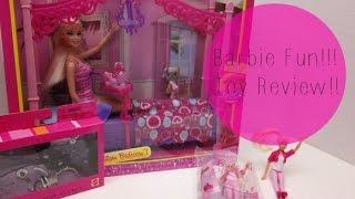 Barbie Fun!!! Barbie Glam Bedroom, Barbie Mcdonalds Happy Meal Toy, Barbie Fashion!