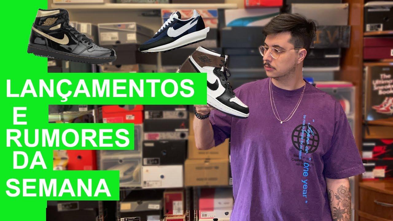Lançamentos e Rumores ( Jordan 1 Dark Mocha, Nike  Sacai x Fragment) - Tiago Borges