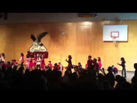 Hamilton Elementary School -Kindergarten Hip Hop Performance