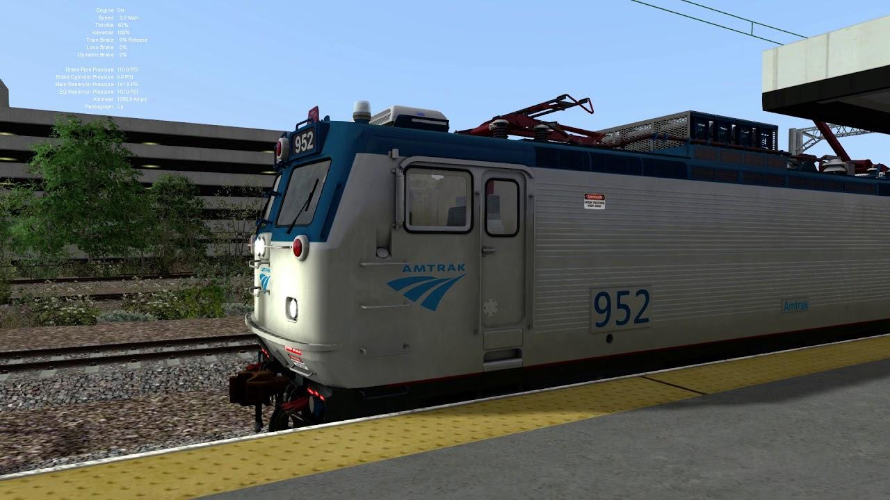 Amtrak Northeast Regional Train No. 184 with ACS-64 No