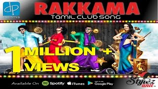 Rakkama | Stylez Unit | Black Kaalai | Mr Ant | V-Don | Tamil Club Song | Official Music Video | 4K