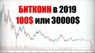 Биткоин в 2019 году  Прогноз Биткоин на 2019 год  Криптовалюта