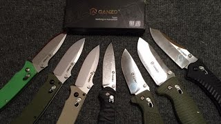 Ganzo Knives - Knives For Pedestrianism!