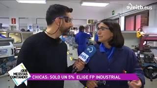 En los módulos de FP industriales solo el 5% son mujeres