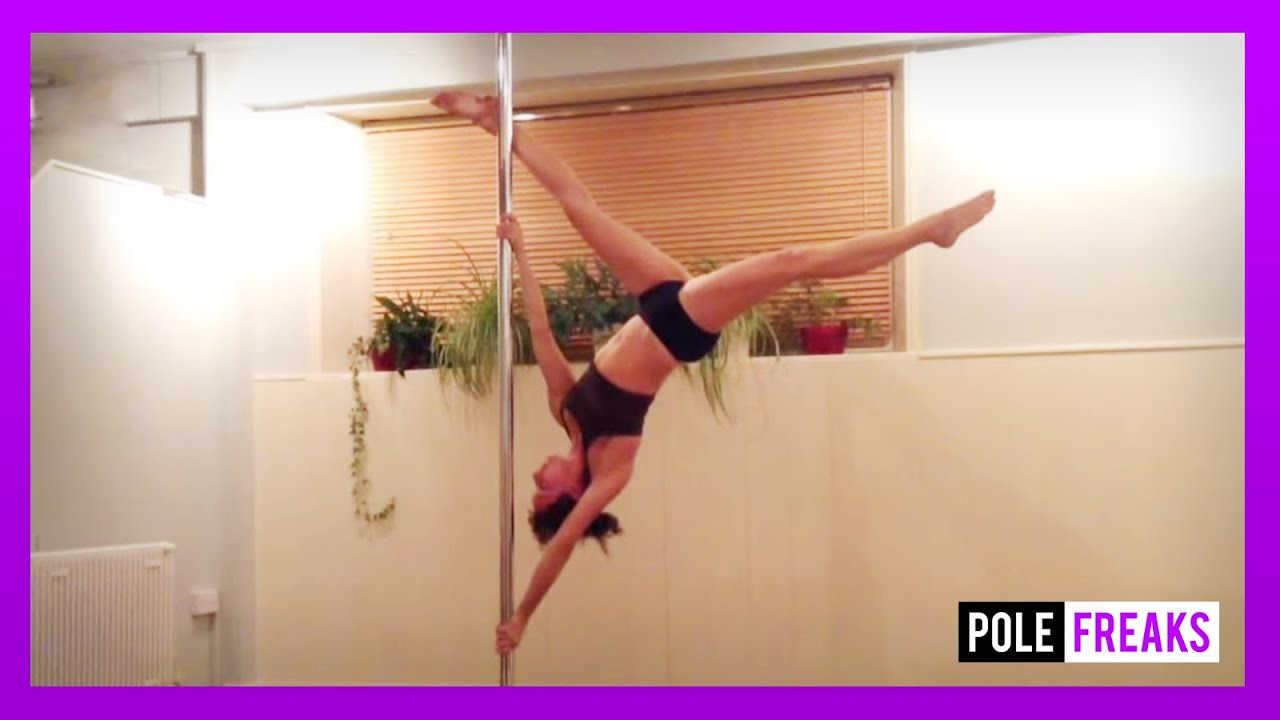 Extended Butterfly - Pole Dance Tutorial - YouTube