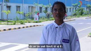 Testimonial of Meena, Production Operator  in an Electronics Manufacturing firm of Andhra Pradesh