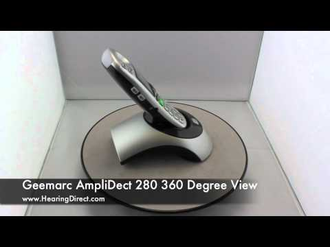Geemarc AmpliDect 280 360 Degree View