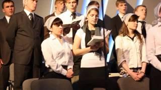 Хор церкви «Провозвестница» - 100-летие церкви ЕХВДА