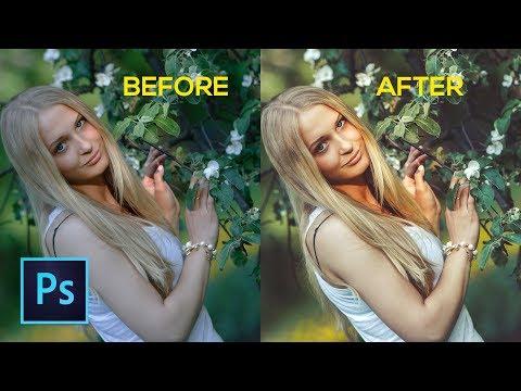 Photoshop cc Tutorial: Modern Outdoor Portrait Editing [Free Preset] thumbnail