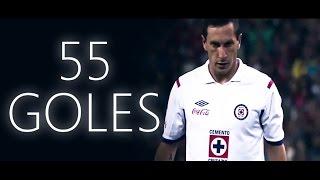 Los 55 Goles de Christian Giménez con Cruz Azul (2010-2015)