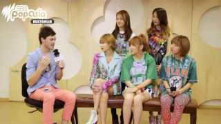 K-Pop's 포미닛 4Minute with SBS PopAsia (Extended Version)