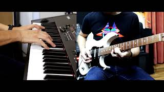 Just the way you are - Billy Joel (Saxophone solo part) Guitar and Keyboard Cover