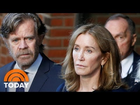 College Admissions Scandal: Felicity Huffman Sentenced To 14 Days In Jail | TODAY