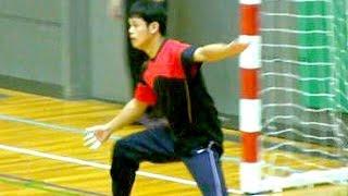 ハンドボール練習【市川高校 ・法政大学第二】インターハイ Handball Boys High School Championships Japan 2015