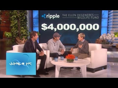 Ripple XRP: Ellen DeGeneres 4 Million Dollar Donation !!!