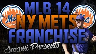 MLB 14 The Show PS4 New York Mets Franchise Ep. 1 | Opening Day Drama!!