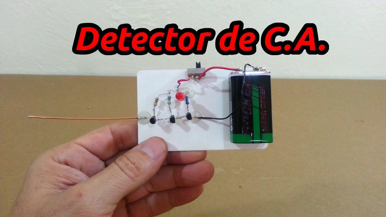 Probador de circuito de tensión sin contacto Sensor de detector de energía