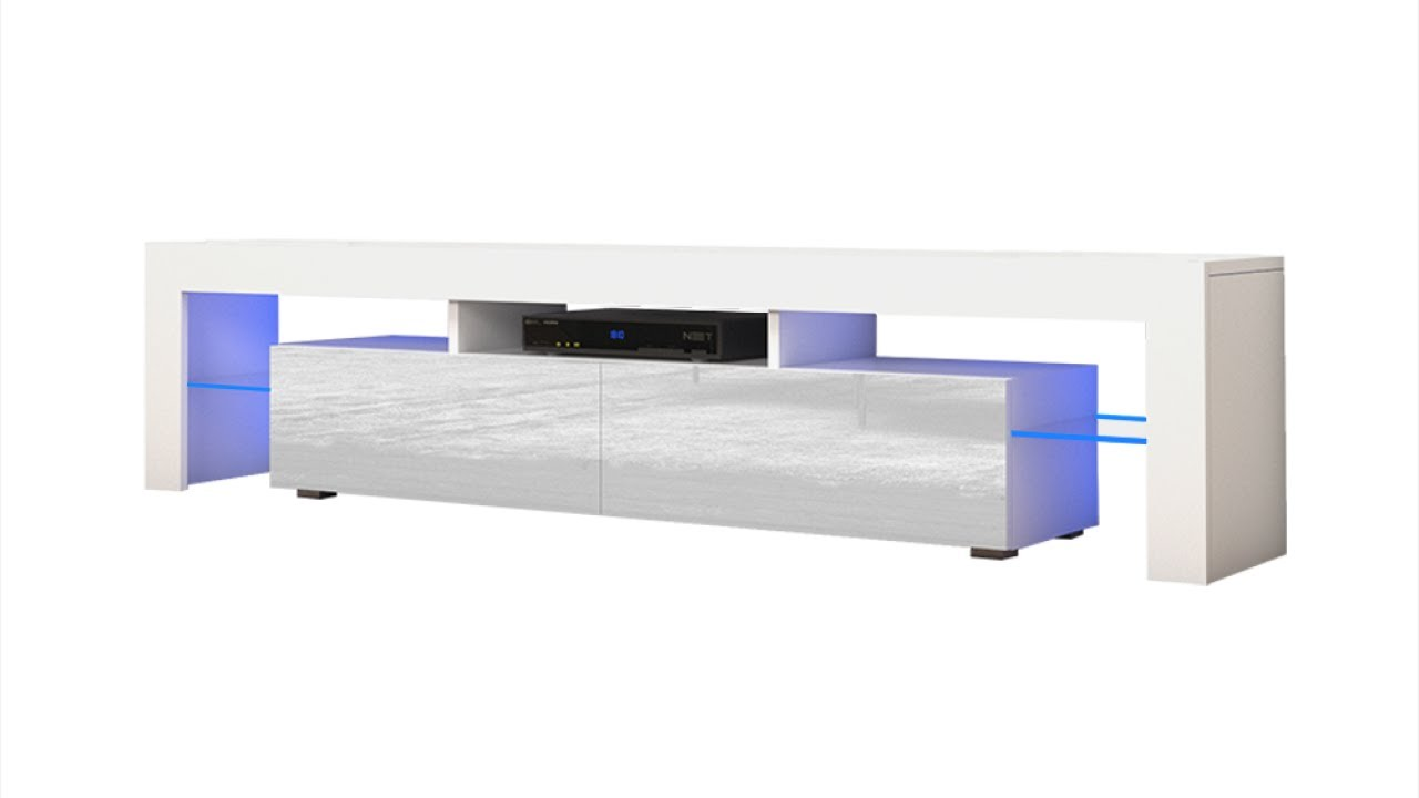 Meble Furniture Rugs Tv Stand Milano 200 Assembly Youtube