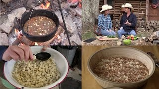 Making Hominy, Chicken Verde Soup & Rice Pudding (Episode #349)