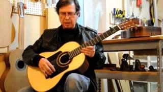 Guitarra Flamenca Negra Marcos Méndez Ramírez