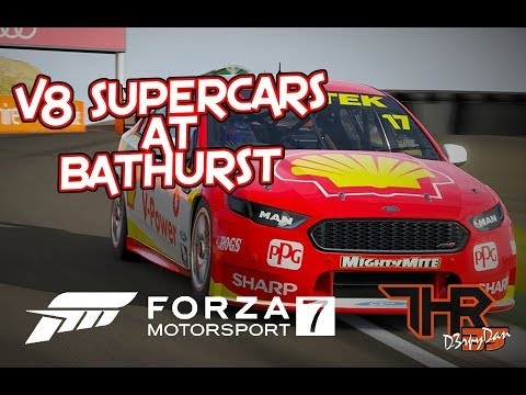 Forza 7: V8 SUPERCARS AROUND MOUNT PANORAMA!!