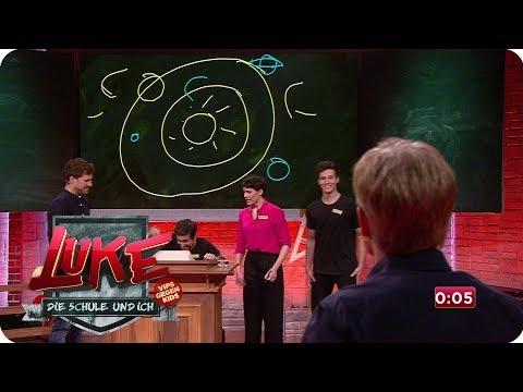 Kids lachen Promis aus - Chaos im Kunstunterricht - LUKE! Die Schule und ich