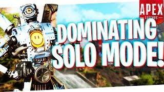 I DOMINATED My First SOLO Game on Apex Legends! - PS4 Apex Legends SOLO!