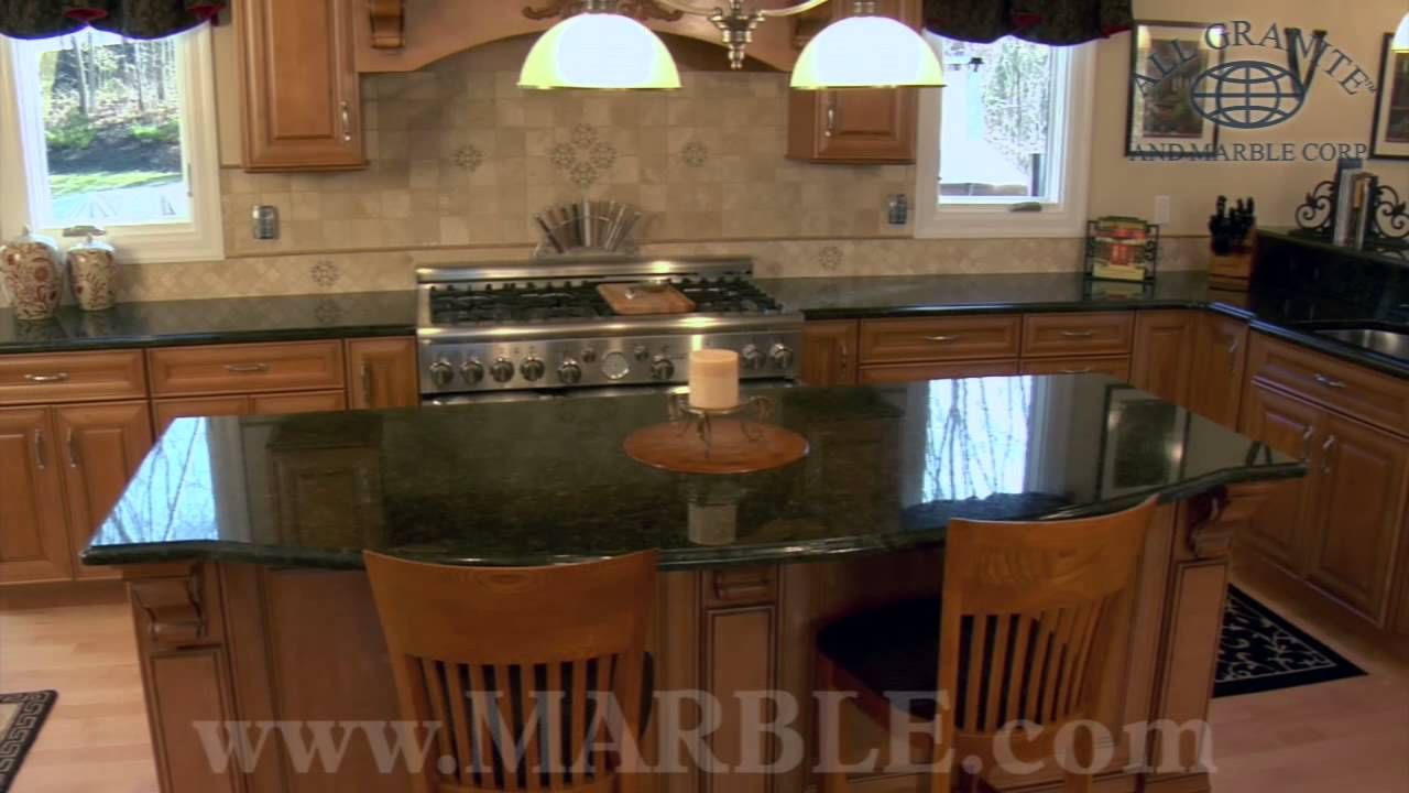 Ubatuba Granite Kitchen Countertops I Marble Com Youtube