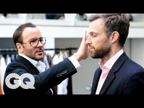 Tom Ford Gives a 30-Year-Old Man an Eyebrow Makeover | Project Upgrade | GQ