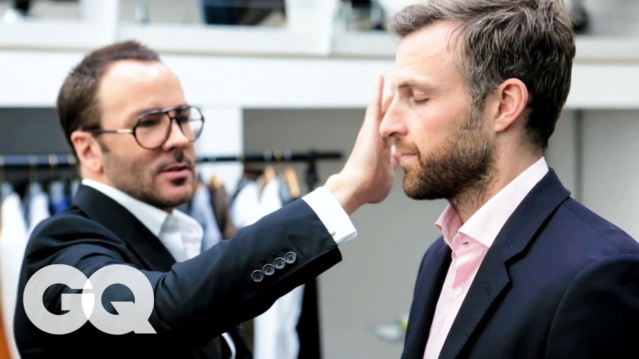 Tom Ford Gives a 30-Year-Old Man an Eyebrow Makeover   Project Upgrade   GQ
