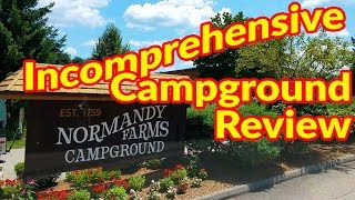 Full Time RV Living   Incomprehensive Campground Review   Normandy Farms Family RV Resort   S2 EP097