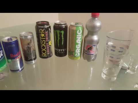 Jager Bombs with different types of energy drinks + Bonus Energy mix at the End