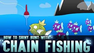 SHINY CHAIN FISHING Tutorial | How to Catch Shiny Pokemon in Pokemon Omega Ruby Alpha Sapphire XY