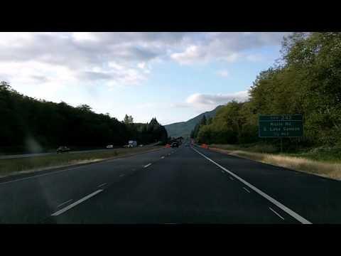 Interstate 5, Washington State: Northbound, Exit 232 to 252 to Bellingham