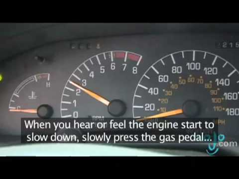 How to Drive a Standard Car - YouTube